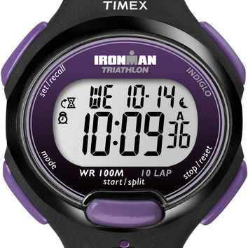 Timex Womens Ironmal Digital Purple Sport Watch
