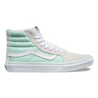 Vans Sk8 Hi Slim Bay / True White