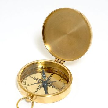 Lid Compass Hancrafted Nautical Decor