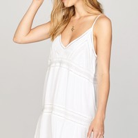 AMUSE SOCIETY - Summer Light Dress | White