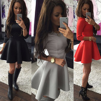 New Fashion Summer Sexy Women Mini Dress Casual Dress for Party and Date = 4725385028