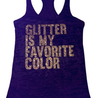 Glitter is my favorite color (Gold glitter)