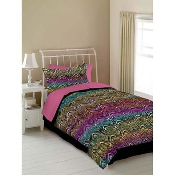 RAINBOW ZEBRA SHEET SET