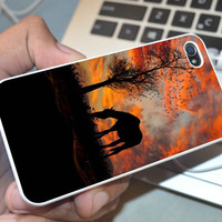 Horse silhouette iphone 5,5s,5c, iphone 4s,4s, and samsung galaxy s3,s4 case