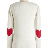 ModCloth Travel Mid-length Long Sleeve We're Young at Heart Sweater