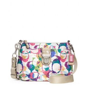 Coach :: New Poppy Stamped c Swingpack