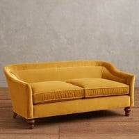 Velvet Holloway Settee by Anthropologie