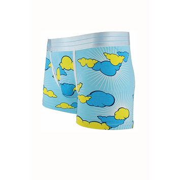 Sly Blue Clouds Boxer Trunk