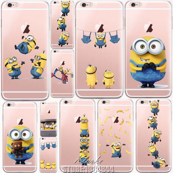 Despicable Me Yellow Minion Case For iphone