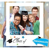Giant Graduation Photo Frame 30in x 35in | Party City