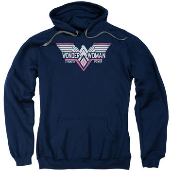 "Wonder Woman ""Thunder Logo"" Pull-over  Hoodie"