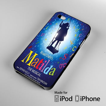 Matilda Broadway Musical A0481 iPhone 4 4S 5 5S 5C 6, iPod Touch 4 5 Cases