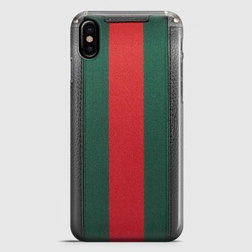 Gucci Black Boston iPhone X Case