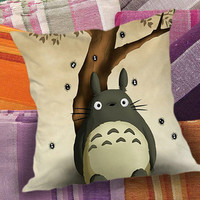 Totoro My Neighbor  decorative pillow and pillow case