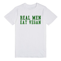 REAL MEN EAT VEGAN