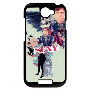 Evan Peters Collage HTC One S Case