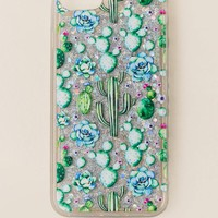 Succulent Glitter Iphone 7 Case