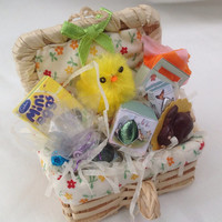 Dolls House Miniatures - Easter Hamper