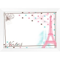 Pink Paris Notes Whiteboard - Walmart.com