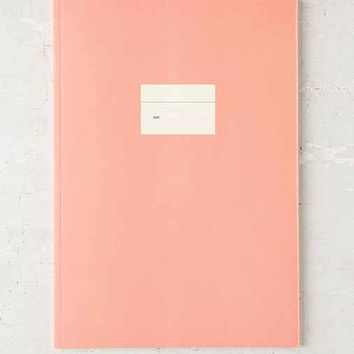 Poketo Color Pop Weekly Planner Notebook- Blush One