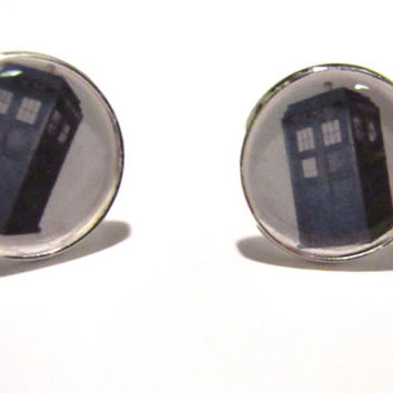 Dr.Who Cufflinks-Tardis,Matt Smith,K9,daleks, Tennant,mens