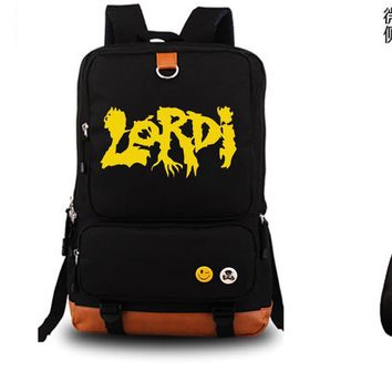 lordi Rock Band Backpack Unisex Fashion Backpack Laptop Backpack school bag Black Backpack