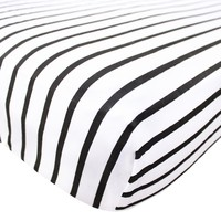 Cotton Fitted Crib Sheet - City