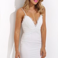 Little Rascal Dress White