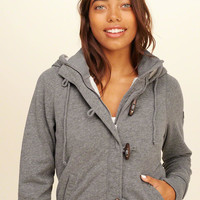Girls Full-Zip Sherpa-Lined Hoodie | Girls Tops | HollisterCo.com