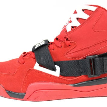 Ewing Men's Concept-HI Red/Black Basketball Shoes ewing069