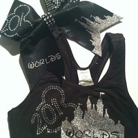 Worlds 2013 Cheer Bow and Sports Bra