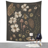 Society6 Nature Walks Wall Tapestry
