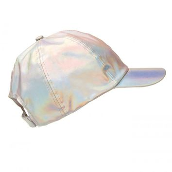 HOLOGRAPHIC CAP - Hats - Accessories