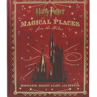 Harry Potter: Magical Places From The Films: Hogwarts, Diagon Alley And Beyond Hardcover Book