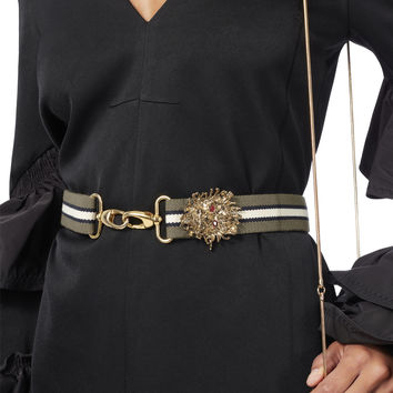 Lion Detail Waist Belt