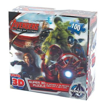 LMFPL3 Marvel Avengers: Age of Ultron 100-pc. Super 3D Puzzle by Cardinal