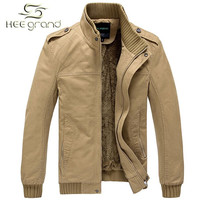 Men's Winter Turn-down Collar Slim Style Casual Jacket