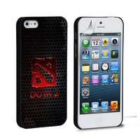dota 2 logo iPhone 4 5 6 Samsung Galaxy S3 4 5 6 iPod Touch 4 5 HTC One M7 8 Case