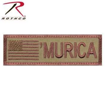 """""""Murica"""" Flag Patch"""