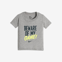 "The Nike ""Beware of My Game"" Infant/Toddler Boys' T-Shirt."