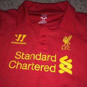 Sale!! Vintage Warrior Liverpool FC Soccer Jersey LFC Toddler Football Shirt Free US S