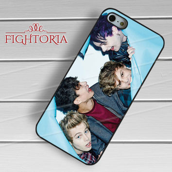 Cute Boys 5SOS - zzZzz for  iPhone 4/4S/5/5S/5C/6/6+s,Samsung S3/S4/S5/S6 Regular/S6 Edge,Samsung Note 3/4