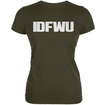 DCCK8UT IDFWU Army Juniors Soft T-Shirt