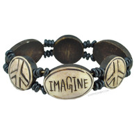 Imagine - Stretch Bracelet on Sale for $7.99 at HippieShop.com