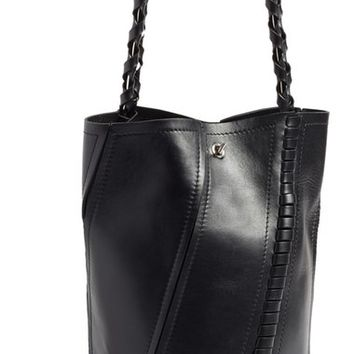 Proenza Schouler 'Large Hex' Whipstitch Leather Bucket Bag | Nordstrom