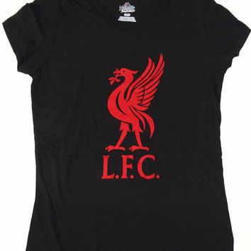 Liverpool Football Club LFC Majestic T Shirt Womens Size M