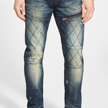 Men's PRPS 'Demon - Ossa' Slim Straight Leg Jeans (Dark Wash)