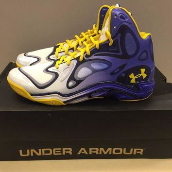 DCCK7H8 Stephen Curry Under Armour Spawn Anatomix 'The Bay' PE US11.5 RARE