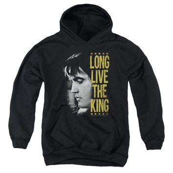Elvis - Long Live The King Youth Pull Over Hoodie