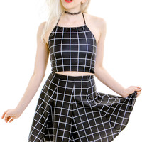 PRE-ORDER: On The Grid Halter Top